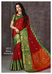 D.No.Flaming Red Rs.1,100